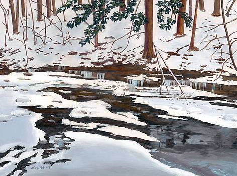Pixley in Winter by Lynne Reichhart
