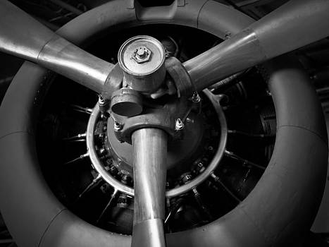 Plane Engine by Josh Camero