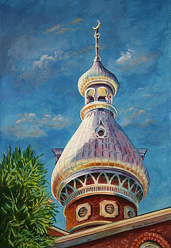 Play of Light - University of Tampa by Roxanne Tobaison