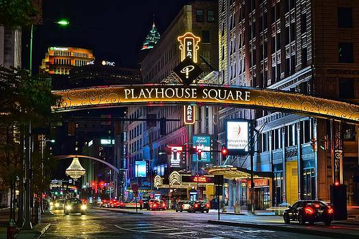 Frozen in Time Fine Art Photography - Playhouse Square