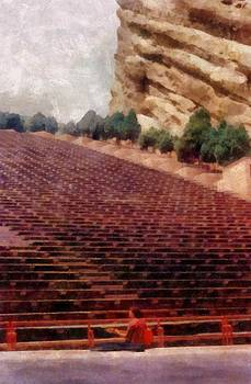 Michelle Calkins - Playing at Red Rocks
