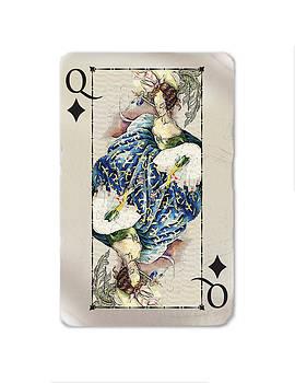 Playing card by Olusha Permiakoff