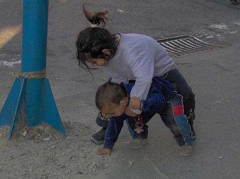 Playing in the Street by Emilija Cerovic