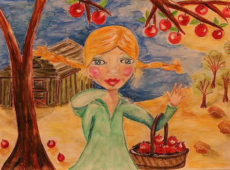 Playing with the Apple Trees by Shakti Chionis