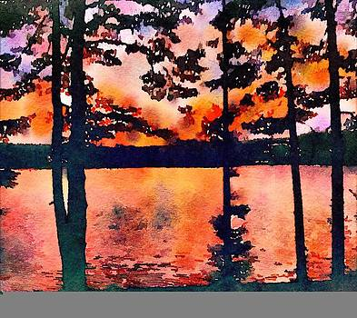 Pleasant Pond by Amy G Taylor