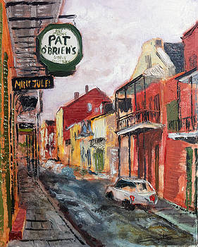 Plein Air Pat  by Robert Sutton