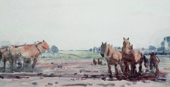Harry Becker - Plow Horses