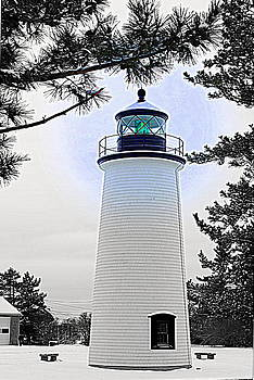 Plum Island Light by Suzanne DeGeorge