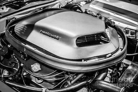 Paul Velgos - Plymouth Hemi Cuda Engine Shaker Hood Scoop