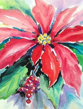 Poinsettia by Holly LaDue Ulrich