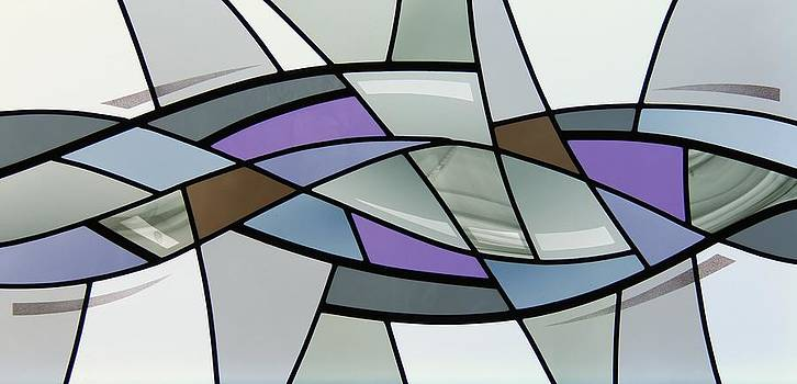 Point Grey Abstract by Gilroy Stained Glass