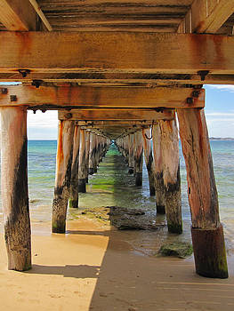 Point Lonsdale Jetty by Fraser McCulloch