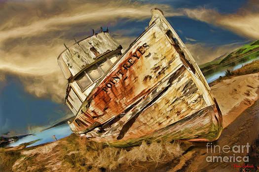 Blake Richards - Point Reyes Abandoned Boat