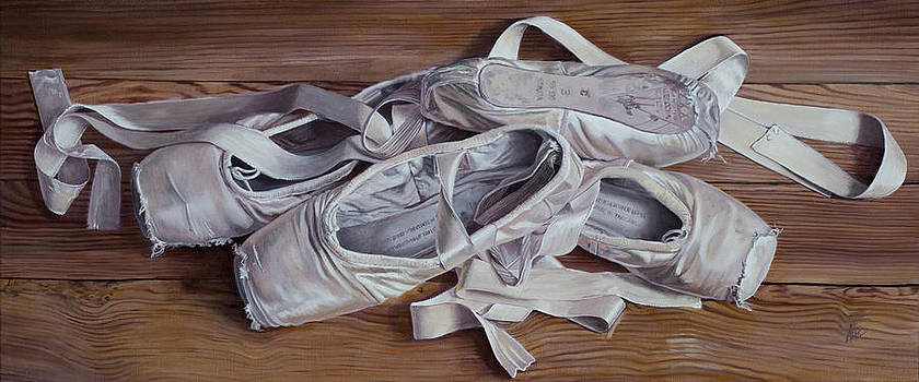 Pointe Shoes by Kevin Aita