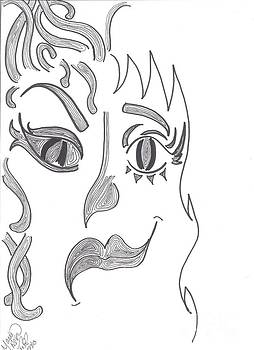 Pointed Faces by Marie De Garo