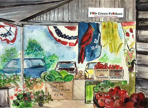 Pole Green Market by Phyllis Abbott