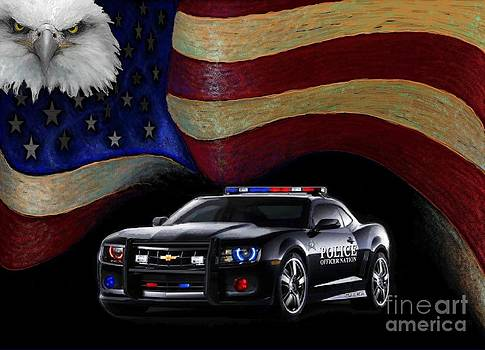 Police Nation USA by Craig Green
