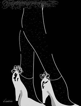 Polka Dot Stockings by Darlene Watson