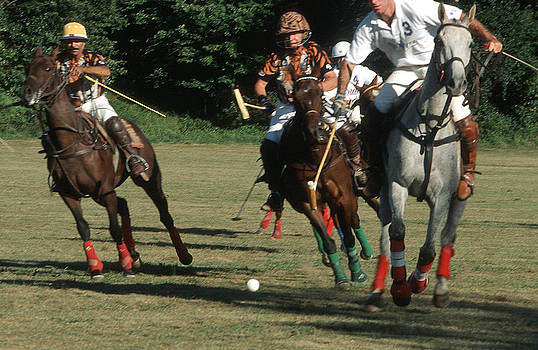 Harold E McCray - Polo Match -- Ball- I
