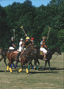 Harold E McCray - Polo Match II