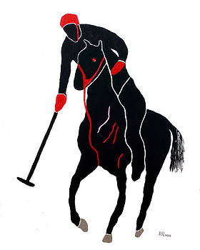 Polo Player by Andrew Petras