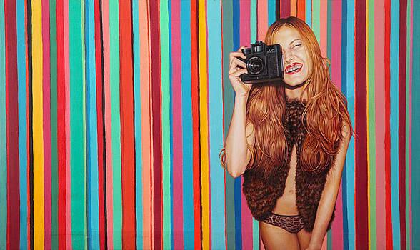 Polychromatic Girl by Lucas Salgado