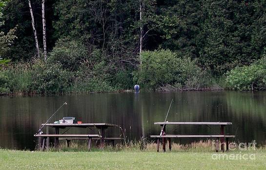 Gail Matthews - Pond fishing