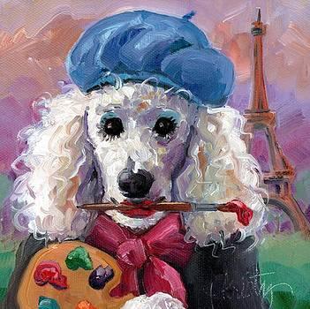 Poodle Palette by Kristy Tracy