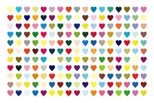 Pop Art Heart by Mark Preston