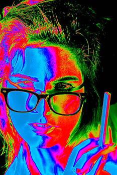 Pop Art Lady by Arie Arik Chen