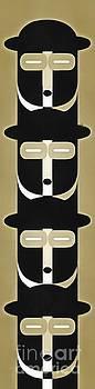 Edward Fielding - Pop Art People Totem 5