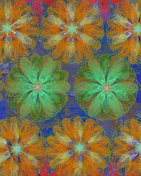 Ricki Mountain - Pop Spiral Floral 22