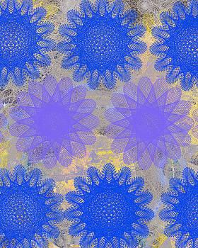 Ricki Mountain - Pop Spiral Floral I