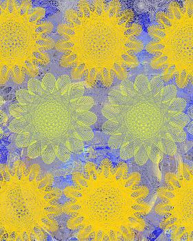 Ricki Mountain - Pop Spiral Floral IV