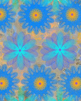Ricki Mountain - Pop Spiral Floral VI