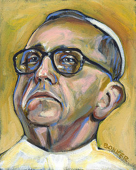 Pope Francis by Buffalo Bonker