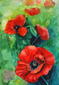 Poppies II by Georgia Pistolis