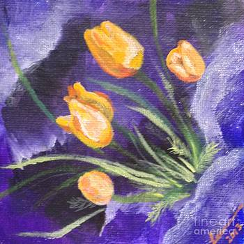 Poppies  by Laurianna Taylor