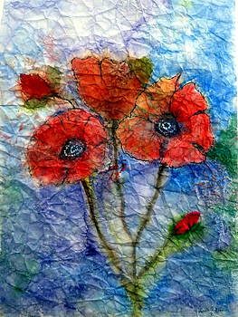 'Poppies' by Loretta Moore