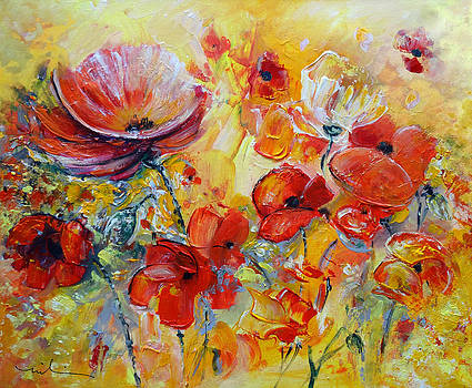 Miki De Goodaboom - Poppies on Fire
