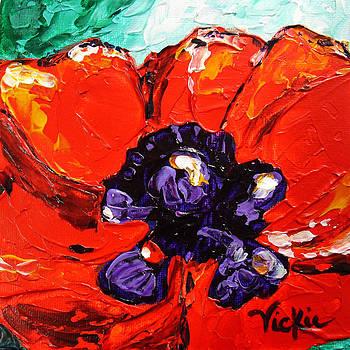 Poppy 4 by Vickie Warner
