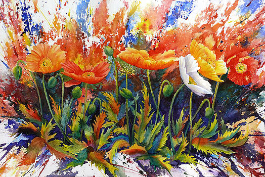Poppy Blast by Karen Mattson