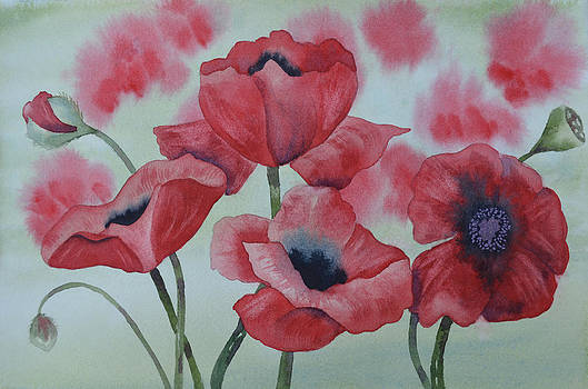 Poppy Dance by Carol Bruno