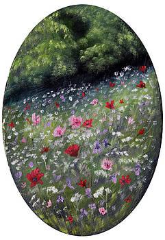 Poppy Field by Meaghan Troup