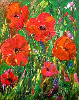 Poppy Frenzy by Barbara Pirkle