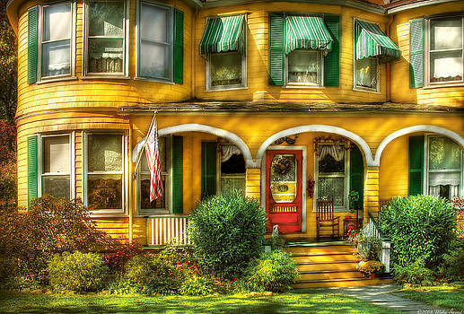 Mike Savad - Porch - Cranford NJ - A Yellow Classic