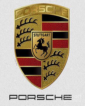 Cheryl Young - Porsche Emblem