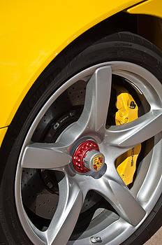 Jill Reger - Porsche Wheel Emblem -1002c