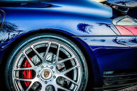 Jill Reger - Porsche Wheel Emblem -1329c