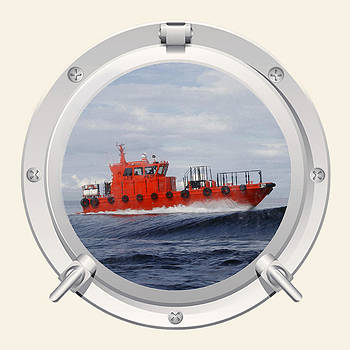 Port Hole View by Roy  McPeak